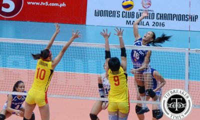 Tiebreaker Times It all started with a plea by Dimaculangan says Rondina News PSL Volleyball  Rhea Dimaculangan Foton Tornadoes Cherry Rondina 2016 PSL Season 2016 PSL All Filipino Conference