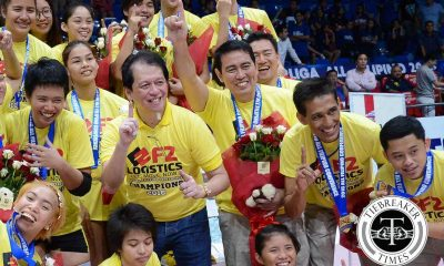 Tiebreaker Times De Jesus finally adds PSL trophy to collection News PSL Volleyball  Ramil De Jesus F2 Logistics Cargo Movers 2016 PSL Season 2016 PSL All Filipino Conference