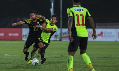 Tiebreaker Times Ceres bows to Tampines Rovers in Singapore Cup first-leg duel Football News  Risto Vidakovic Ceres-La Salle FC Bienvenido Marañon 2016 Singapore Cup