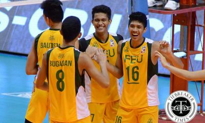 Tiebreaker Times Tamaraws nail second win, sink Mariners FEU News PVL Volleyball  Robert Buenamente Rikko Marmeto Richard Solis Rey Diaz PMMS Mariners Kurl Rosete Kris Silang Kelvin Balanga Greg Dolor FEU Men's Volleyball 2016 Spikers Turf Season 2016 Spikers Turf Collegiate Conference