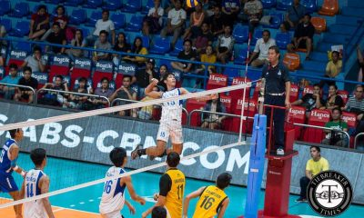 Tiebreaker Times Ateneo makes error-prone UST pay, keeps undefeated record ADMU News PVL UST Volleyball  Ysay Marasigan UST Men's Volleyball Tyrone Carodan Ron Medalla Oliver Almadro Odjie Mamon Marck Espejo Manuel Sumanguid Ish Polvorosa Ateneo Men's Volleyball 2016 Spikers Turf Season 2016 Spikers Turf Collegiate Conference