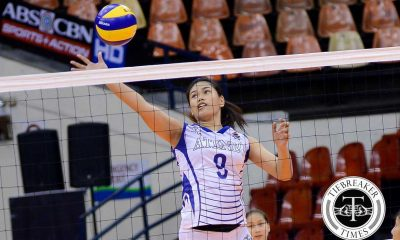 Tiebreaker Times Lady Eagles sweep Lady Stags, book last semis slot ADMU News PVL SSC-R Volleyball  Tai Bundit San Sebastian Women's Volleyball Kim Gequillana Kath Villegas Jia Morado Grethcel Soltones Gizelle Tan Clint Malanzo Ateneo Women's Volleyball Ana Gopico 2016 SVL Season 2016 SVL Collegiate Conference