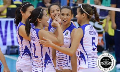 Tiebreaker Times Morente vows Lady Eagles will only get better ADMU News PVL Volleyball  Michelle Morente Ateneo Women's Volleyball 2016 SVL Season 2016 SVL Collegiate Conference