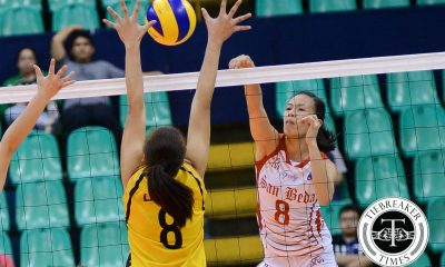 Tiebreaker Times Marciano elated at newfound respect for San Beda News PVL SBC Volleyball  San Beda Women's Volleyball Janine Marciano Ces Molina 2016 SVL Season 2016 SVL Collegiate Conference