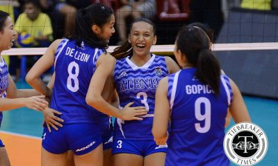 Tiebreaker Times Morente grateful for the second chance ADMU News PVL Volleyball  Michelle Morente Ateneo Women's Volleyball 2016 SVL Season 2016 SVL Collegiate Conference