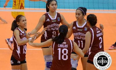 Tiebreaker Times V-League stint a great build-up for Lady Maroons News PVL UP Volleyball  UP Women's Volleyball Kathy Bersola 2016 SVL Season 2016 SVL Reinforced Conference