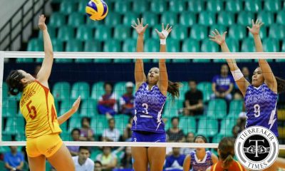 Tiebreaker Times Lady Stags sweep Lade Eagles with epic third set comeback ADMU News PVL SSC-R Volleyball  Vira Guillema Tai Bundit San Sebastian Women's Volleyball Jules Samonte Grethcel Soltones Denice Lim Clint Malazo Ateneo Women's Volleyball Alyssa Eroa 2016 SVL Season 2016 SVL Collegiate Conference