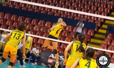Tiebreaker Times Reyes wants senior Tigresses to learn from junior counterparts News PVL UST Volleyball  UST Women's Volleyball Magi Mangulabnan Kungfu Reyes Eya Laure 2016 SVL Season 2016 SVL Collegiate Conference