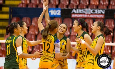 Tiebreaker Times Lady Tams sweep Tigresses in battle of depleted squads FEU News PVL UST Volleyball  UST Women's Volleyball Toni Rose Basas Shaq delos Santos Kyla Negrito Kyla Atienza Kungfu Reyes Heather Guino-o FEU Women's Volleyball Eiya Laure 2016 SVL Season 2016 SVL Collegiate Conference