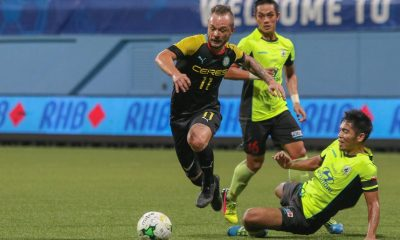 Tiebreaker Times Ceres exits Singapore Cup after overtime loss to Tampines Rovers Football News  Stephan Schrock Patrick Reichelt Louie Casas Ceres-La Salle FC 2016 Singapore Cup