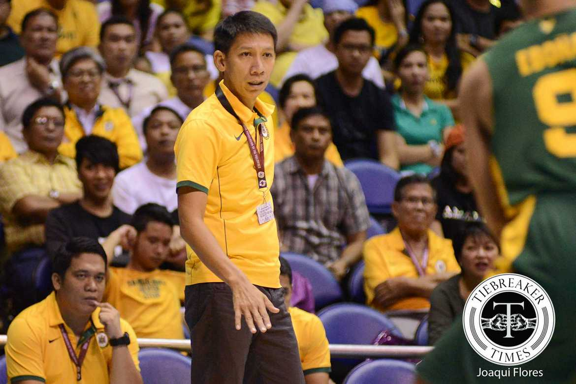 Tiebreaker Times Racela says Tamaraws won't back down from Archers Basketball FEU News  UAAP Season 79 Men's Basketball UAAP Season 79 Nash Racela FEU Men's Basketball