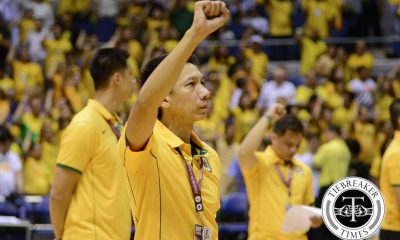 Tiebreaker Times Change is Coming: School hymns to be sung before games News UAAP  UAAP Season 79 Fr. Ermito G. De Sagon OP