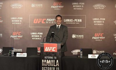 Tiebreaker Times UFC exec confirms three bouts for Fight Night Manila 2 Mixed Martial Arts News UFC  UFC Fight Night Manila 2 Ricardo Lamas Marcin Tybura Kyoji Horiguchi Ken Berger Derrick Lewis BJ Penn Ali Bagautinov