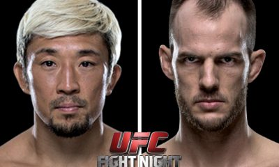 Tiebreaker Times Miller-Hirota featherweight clash added to Fight Night Manila Mixed Martial Arts News UFC  UFC Fight Night Manila 2 Mizuto Hirota Cole Miller
