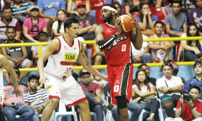 Tiebreaker Times Henton, Alaska snap three-game skid with win over Star in Panabo Basketball News PBA  Star Hotshots Sonny Thoss RR Garcia Marc Pingris LaDontae Henton Joel Wright Jason Webb Calvin Abueva Alex Compton Alaska Aces 2016 PBA Season 2016 PBA Governors Cup
