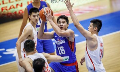 Tiebreaker Times Gilas 5.0 falls to China to open second round Basketball Gilas Pilipinas News  RR Pogoy Mac Belo Josh Reyes China (Basketball) Carl Cruz 2016 FIBA Asia Challenge Cup