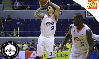 Tiebreaker Times Meralco cruises in Game Two to even series against TNT Basketball News PBA  Talk N Text Tropang Texters Ranidel De Ocampo PBA Season 41 Norman Black Mychal Ammons Meralco Bolts Jong Uichico Jimmy Alapag Jayson Castro Chris Newsome Allen Durham 2016 PBA Governors Cup