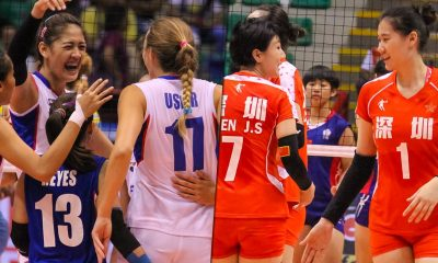 Tiebreaker Times Foton faces Ba'Yi Shenzeng in knockout quarters 2016 Asian WCC News PSL Volleyball
