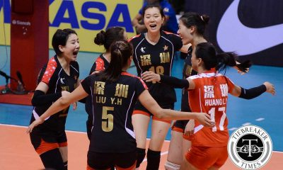 Tiebreaker Times Ba'Yi enters Finals, thwarts determined Altay VC 2016 Asian WCC News Volleyball  Ba'Yi Shenzeng Altay VC