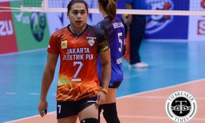 Tiebreaker Times Manganang elated at positive reception from Filipino fans 2016 Asian WCC News Volleyball  Jakarta Elektrik PLN Aprilia Manganang