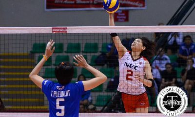 Tiebreaker Times NEC dethrones Bangkok Glass to earn Finals seat 2016 Asian WCC News Volleyball  NEC Red Rockets Bangkok Glass