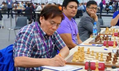 Tiebreaker Times PSC to reward Torre, Frayna for feats Chess News  Rodrigo Duterte Janelle Frayna Eugene Torre 42nd World Chess Olympiad