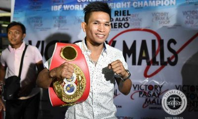 Tiebreaker Times John Riel Casimero will not wait for Inoue, faces Ghanan prospect in title defense Boxing News  Top Rank Promotions Sean Gibbons MP Promotions John Riel Casimero Duke Micah