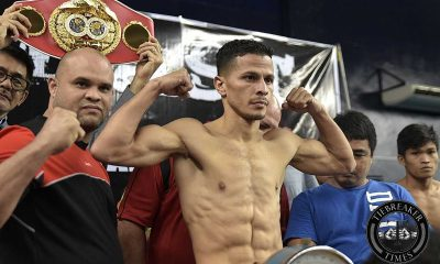 Tiebreaker Times IBF world champion Arroyo unfazed despite Ancajas homecourt advantage Boxing News  MP Promotions McJoe Arroyo Jerwin Ancajas