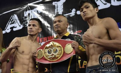 Tiebreaker Times Ancajas all set to challenge Arroyo for IBF crown Boxing News  MP Productions McJoe Arroyo Joe Ramos Jerwin Ancajas
