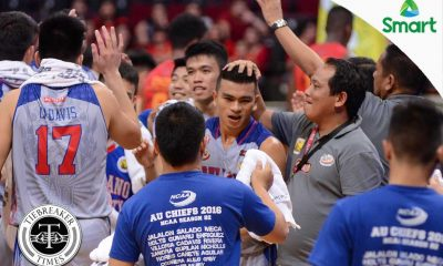 Tiebreaker Times Arellano moves to the Finals behind Jalalon's near triple-double AU Basketball MIT NCAA News  NCAA Season 92 Seniors Basketball NCAA Season 92 Mapua Seniors Basketball Lervin Flores Kent Salado Jio Jalalon Jerry Codinera CJ Isit Atoy Co Arellano Seniors Basketball Andrew Estrella Allwell Oraeme