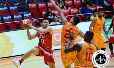 Tiebreaker Times Sara remains hopeful Red Lions can find solution to woes Basketball NCAA News SBC  San Beda Seniors Basketball NCAA Season 92 Seniors Basketball NCAA Season 92 Dan Sara