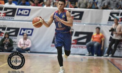 Tiebreaker Times 'Inspired' play from Jalalon drawn from parents' presence AU Basketball NCAA News  NCAA Season 92 Seniors Basketball NCAA Season 92 Jio Jalalon Arellano Seniors Basketball
