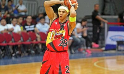 Tiebreaker Times San Miguel outmuscles Rain or Shine to clinch twice-to-beat incentive Basketball News PBA  Yeng Guiao San Miguel Beerman Rain or Shine Elasto Painters PBA Season 41 Mike Singletary Leo Austria June Mar Fajardo Josh Dollard Jewel Ponferada Jericho Cruz Arwind Santos 2016 PBA Governors Cup
