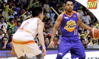 Tiebreaker Times Castro drops 42 as TNT completes semis cast Basketball News PBA  Talk N Text Tropang Texters Ranidel De Ocampo Phoenix Fuel Masters PBA Season 41 Michael Madanly Lee Gwan Hee Jong Uichico Jayson Castro Eugene Phelps Cyrus Baguio 2016 PBA Governors Cup