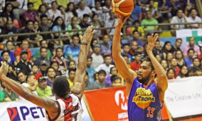 Tiebreaker Times TNT takes dominating win over SMB in Batangas Basketball News PBA  Talk N Text Tropang Texters Ranidel De Ocampo PBA Season 41 Mike Singletary Michael Madanly Leo Austria June Mar Fajardo Jong Uichico Jayson Castro Alex Cabagnot 2016 PBA Governors Cup