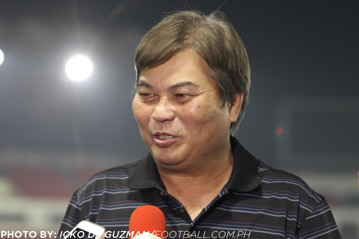 Tiebreaker Times PFF on IATF approval: 'The next step is to ensure the safety of the players' Football News PFL  Philippine Football Federation Nonong Araneta Edwin Gastanes Coronavirus Pandemic 2020 PFL Season