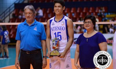 Tiebreaker Times 'God's gift to Ateneo' brings home another championship, MVP ADMU News PVL Volleyball  Marck Espejo Ateneo Men's Volleyball 2016 Spikers Turf Season 2016 Spikers Turf Collegiate Conference