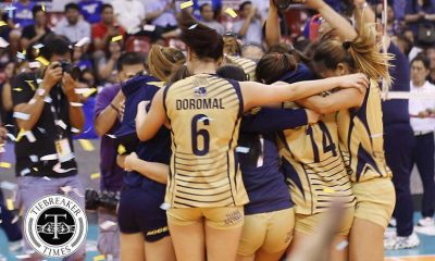 Tiebreaker Times Lady Bulldogs write golden ending to transcendent season ADMU News NU PVL Volleyball  Tai Bundit NU Women's Volleyball Michelle Morente Jorelle Singh Jho Maraguinot Jasmine Nabor Jaja Santiago Gayle Valdez Edjet Mabbayad Bea De Leon Ateneo Women's Volleyball 2016 SVL Season 2016 SVL Collegiate Conference