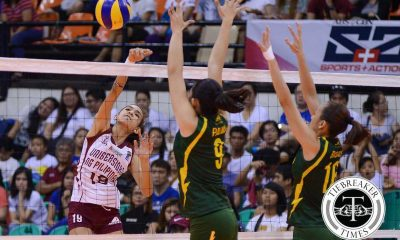 Tiebreaker Times Tiamzon finds silver lining in Lady Maroons' setbacks News PVL UP Volleyball  UP Women's Volleyball Nicole Tiamzon 2016 SVL Season 2016 SVL Collegiate Conference