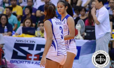 Tiebreaker Times Weak Maraguinot still raring to help Ateneo in Finals ADMU News PVL Volleyball  Jho Maraguinot Ateneo Women's Volleyball 2016 SVL Season 2016 SVL Collegiate Conference