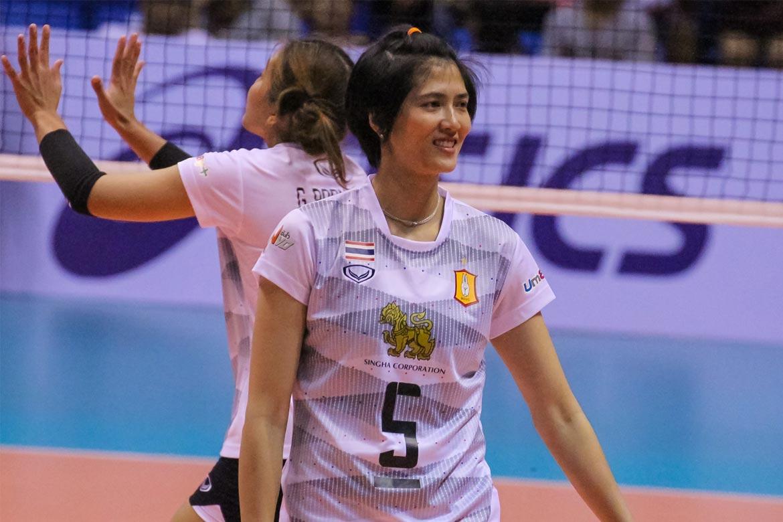 Philippine Sports News - Tiebreaker Times Pleumjit looking to make twilight years fruitful 2016 Asian WCC News Volleyball  Pleumjit Thinkaow Bangkok Glass