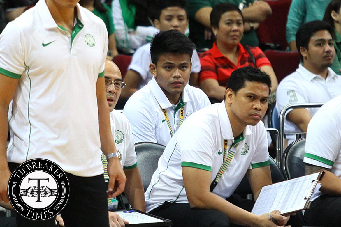 UAAP-79-DLSU-ADU-McJour-Luib SOURCES: Manansala to be named UST Tigers coach, Luib for Tiger Cubs Basketball News UAAP UST  - philippine sports news