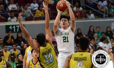 Tiebreaker Times Player of the Week & King Archer Teng doing it all for La Salle Basketball DLSU News UAAP  UAAP Season 79 Men's Basketball UAAP Season 79 UAAP Player of the Week Robbie Manalang Raymar Jose Jeron Teng DLSU Men's Basketball Dawn Ochea