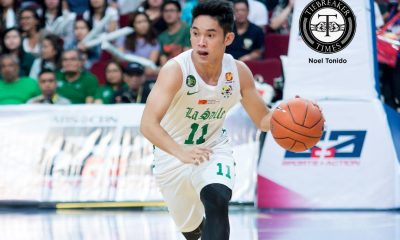 Tiebreaker Times Melecio credits Torres for helping him overcome jitters Basketball DLSU News UAAP  UAAP Season 79 Men's Basketball UAAP Season 79 DLSU Men's Basketball Aljun Melecio