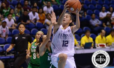 Tiebreaker Times Second half surge propels NU over DLSU Basketball DLSU News NU UAAP  UAAP Season 79 Women's Basketball UAAP Season 79 Patrick Aquino NU Women's Basketball Monique del Carmen Khate Castillo Gemma Miranda DLSU Women's Basketball Cholo Villanueva Bennette Revillosa Afril Bernardino