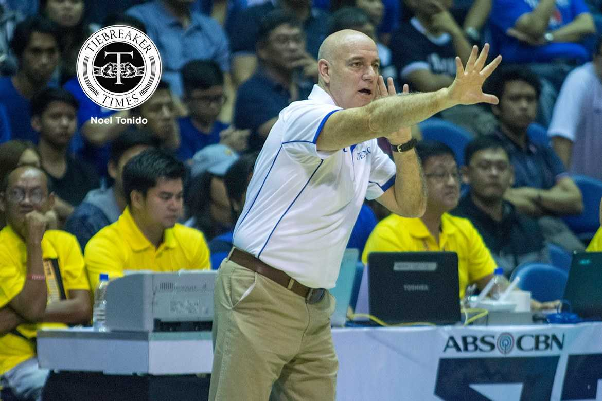 Tiebreaker Times Baldwin shares thoughts on first UAAP experience ADMU Basketball News UAAP  UAAP Season 79 Men's Basketball UAAP Season 79 Tab Baldwin Ateneo Men's Basketball
