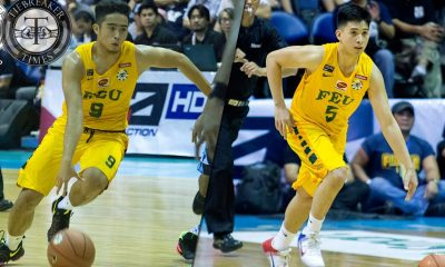 Tiebreaker Times Right place, right time for former Falcons Inigo, Bayquin Basketball FEU News UAAP  UAAP Season 79 Men's Basketball UAAP Season 79 Kimlee Bayquin FEU Men's Basketball