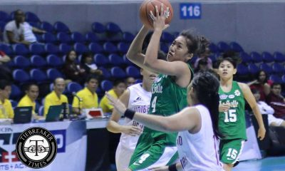 Tiebreaker Times La Salle dominates UP, notches 2nd win Basketball DLSU News UAAP UP  UP Women's Basketball UAAP Season 79 Women's Basketball UAAP Season 79 Snow Penaranda Maan Wong Lourdes Ordoveza Kenneth Raval DLSU Women's Basketball Cholo Villanueva Bennette Revillosa