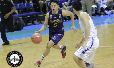 Tiebreaker Times Bulldogs pounce on Blue Eagles to stay unscathed ADMU Basketball News NU UAAP  UAAP Season 79 Men's Basketball UAAP Season 79 Sandy Arespacochaga Rev Diputado NU Men's Basketball Mike Nieto Matt Salem Eric Altamirano Ateneo Men's Basketball Alfred Aroga