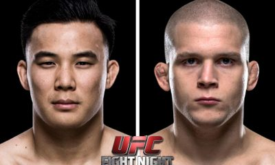 Tiebreaker Times Two new bouts announced for UFC Fight Night Manila 2 Mixed Martial Arts News UFC  UFC Fight Night Manila 2 Ryan Janes James Moontasri Dongi Yang Alex Morono